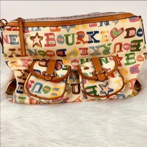DOKNEY & BOURKE Authentic Handbag Purse Logo EUC